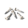 HPL screws RAL 9001 cream (25 pieces)