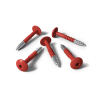 HPL screws RAL 3016 coral red (25 pieces)