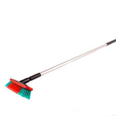 Cleaning brush with long handle