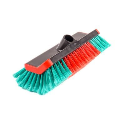 Shaped cleaning brush