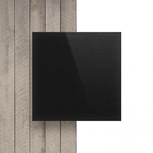 Front Hard PVC Black