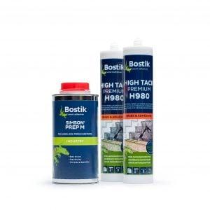 Bostik adhesive set High Tack mit Prep M