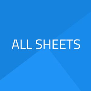 All plastic sheets