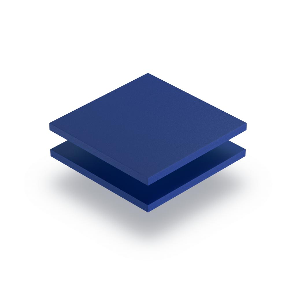 Blue PVC foam sheet RAL 5010