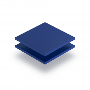 Blue PVC foam sheet RAL 5010