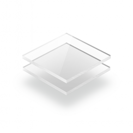 Clear cast GS acrylic sheet