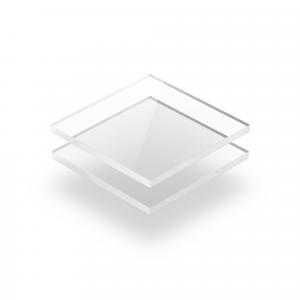Clear extruded XT acrylic sheet