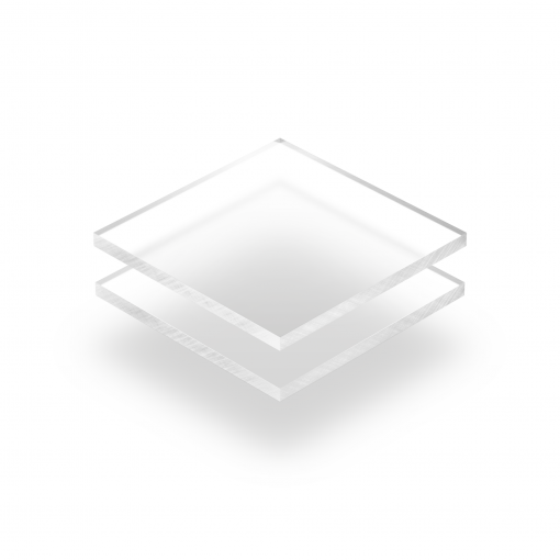 Frosted clear acrylic sheet