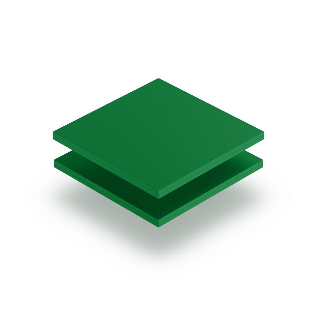 Green PVC foam sheet RAL 6024