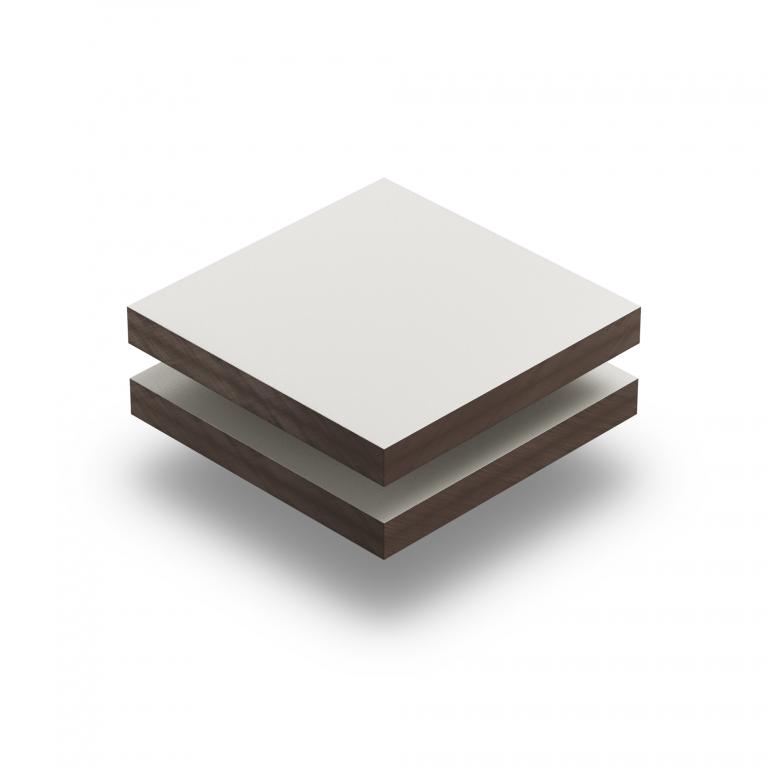 HPL texture sheet 6 mm cream RAL 9001
