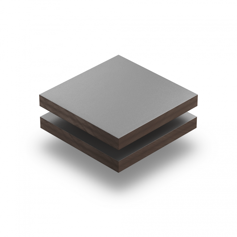 HPL texture sheet 6 mm dusty grey RAL 7037