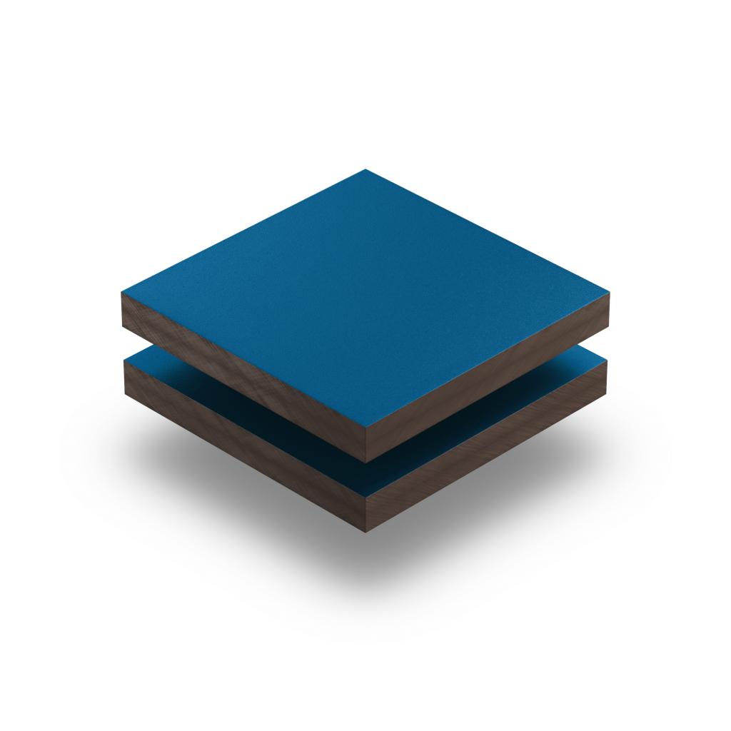 HPL texture sheet 6 mm gentian blue RAL 5010