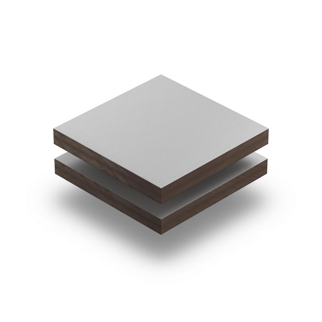 HPL texture sheet 6 mm light grey RAL 7035