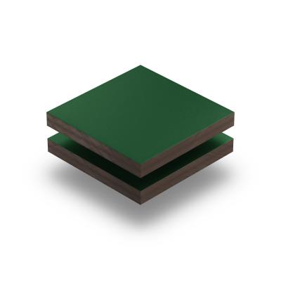 HPL texture sheet 6 mm moss green RAL 6005
