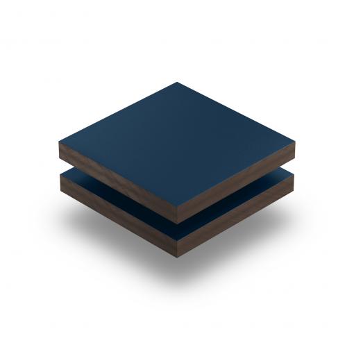 HPL texture sheet 6 mm steel blue RAL 5011