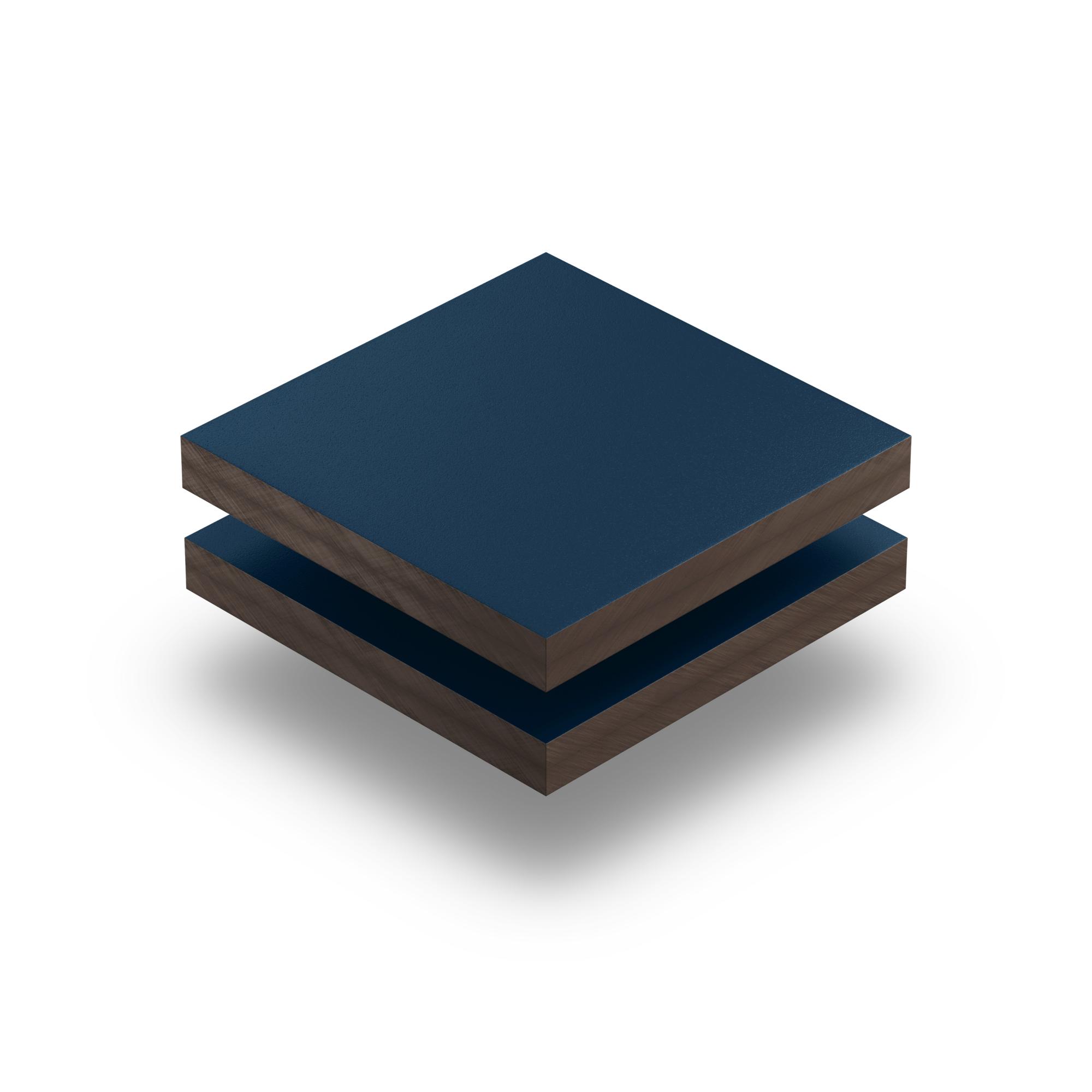 Hpl Texture Sheet 6 Mm Steel Blue Plasticsheetsshop Co Uk