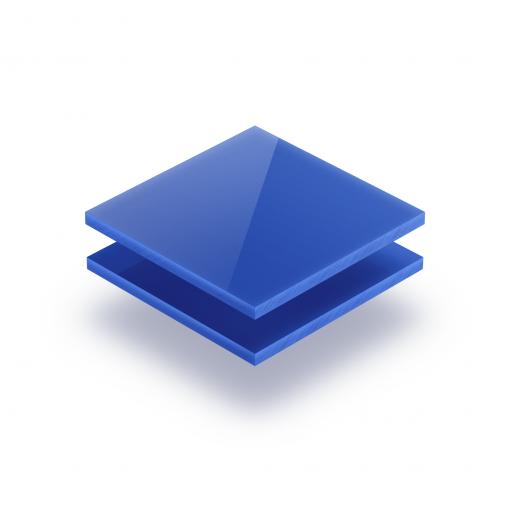 Opal blue acrylic sheet 3 mm