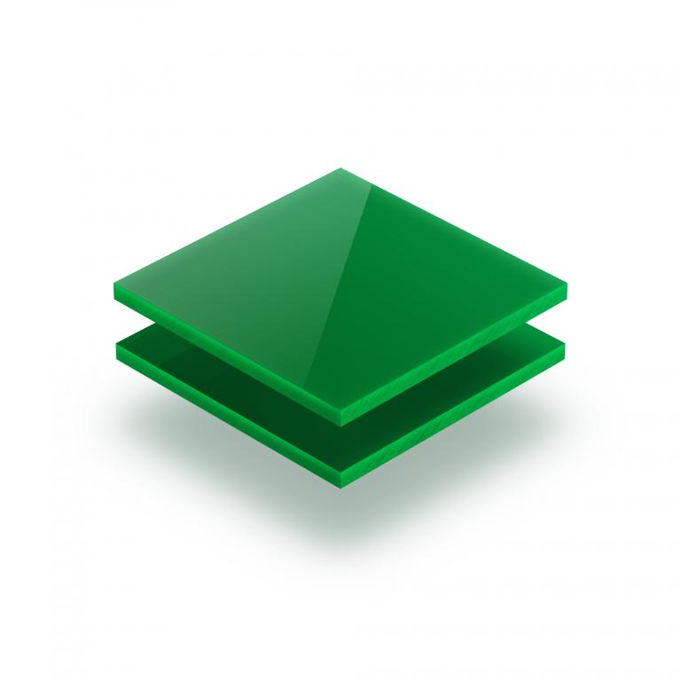 Opal green acrylic sheet 3 mm