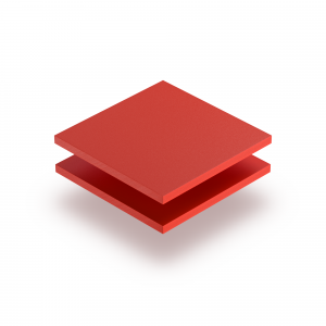 Red PVC foam sheet RAL 3020