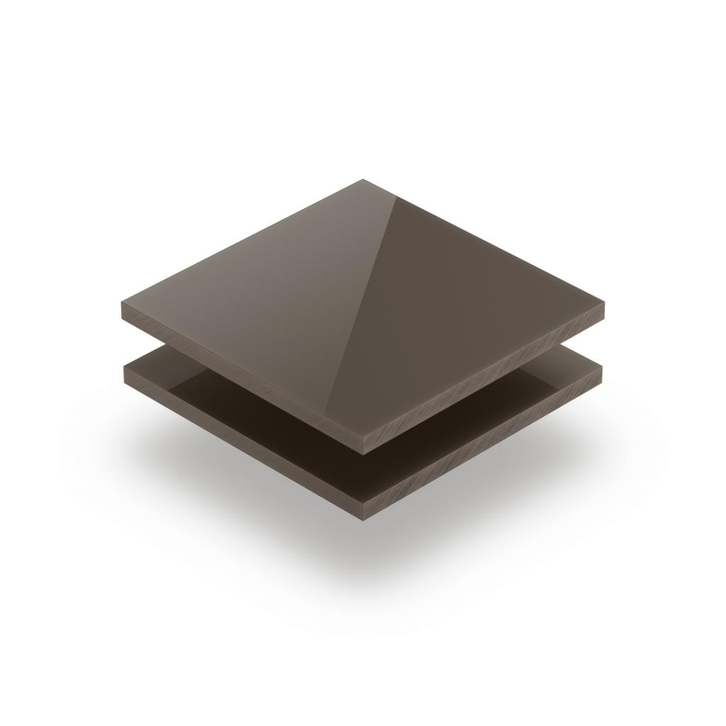 Satin acrylic sheet gloss clay