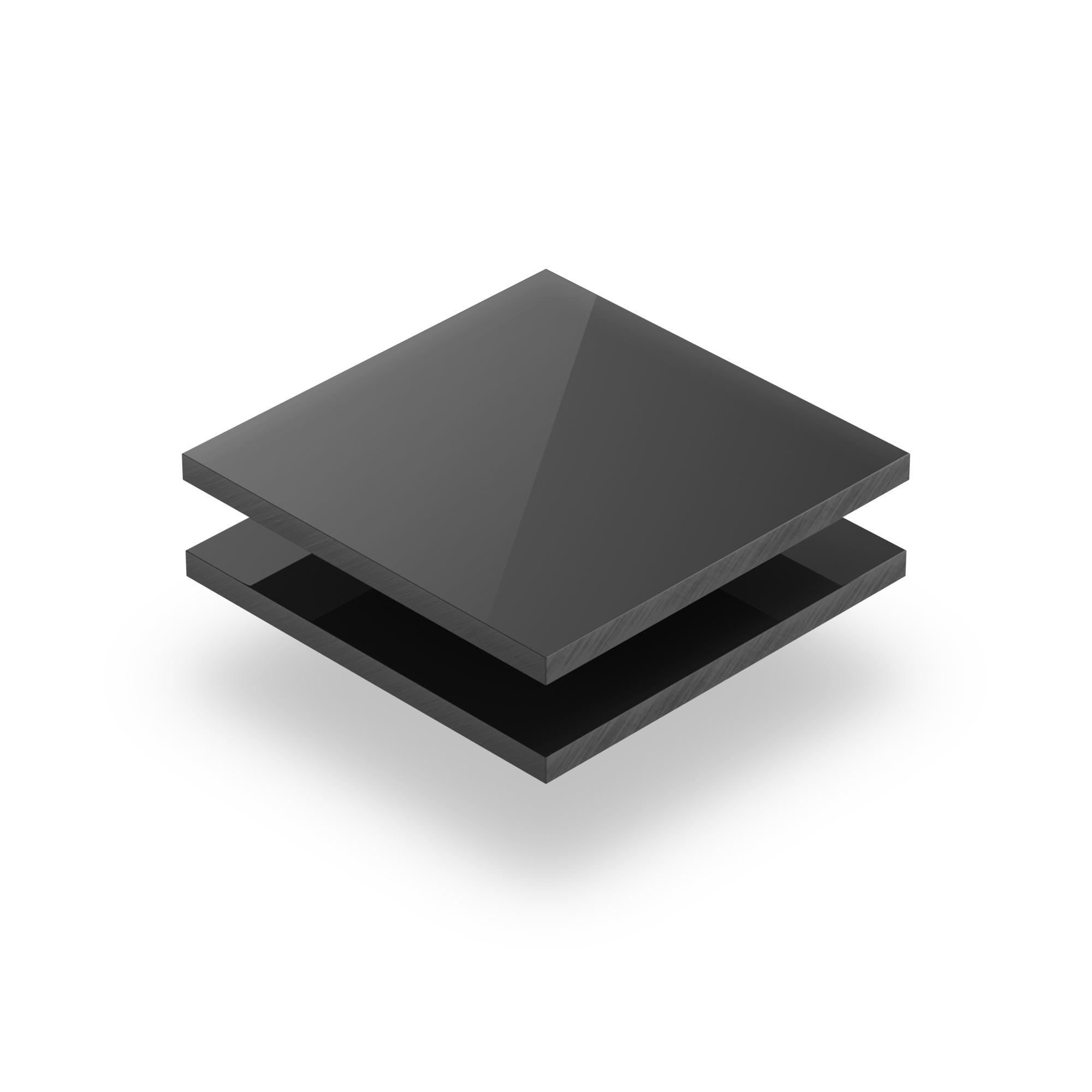 Solid Pvc Sheet 8mm Dark Grey Plasticsheetsshop Co Uk