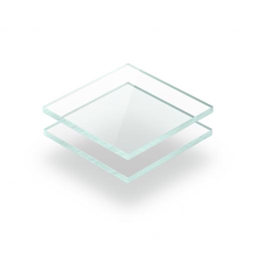 Tinted acrylic sheet glass look 3 mm