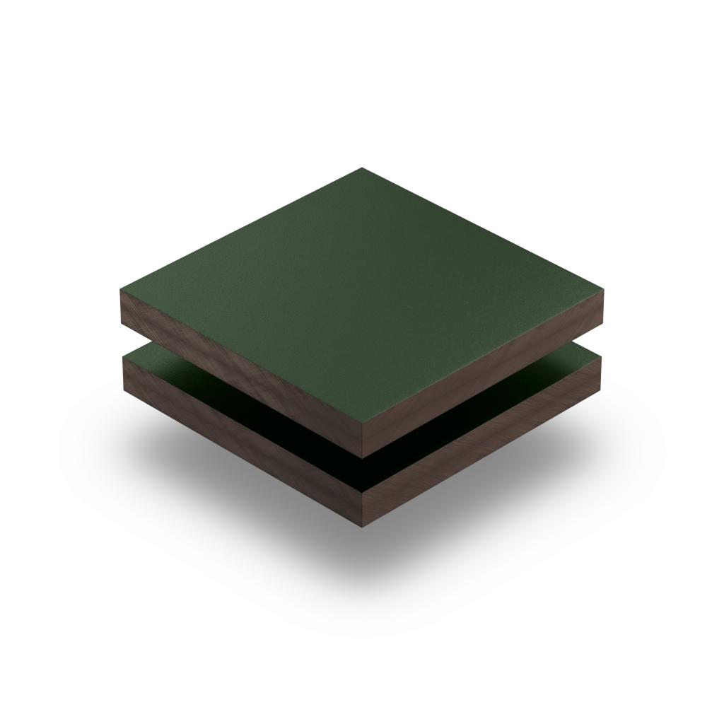Trespa panel 6 mm fir green RAL 6009