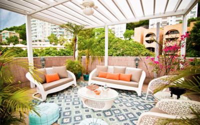 DIY patio cover