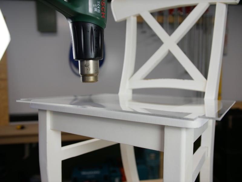 Perspex chair