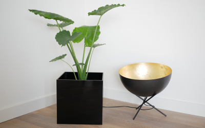 Make your own plastic planter