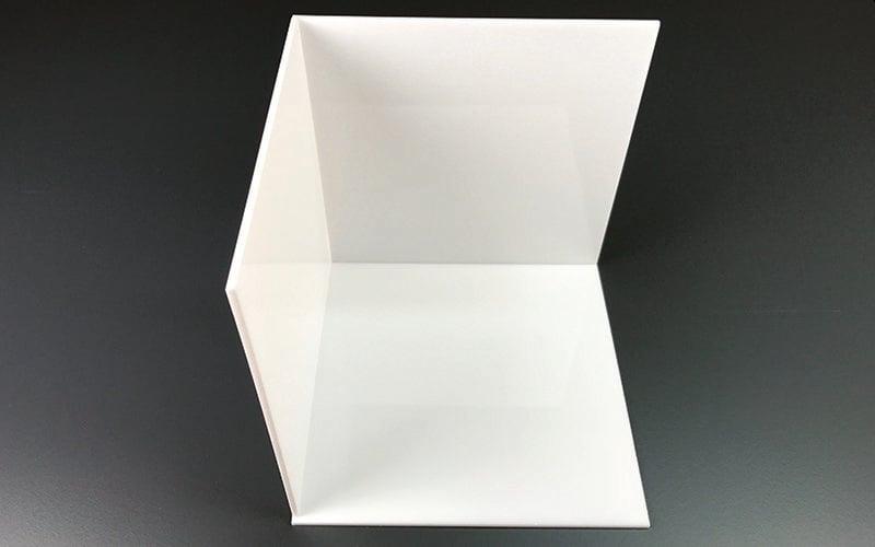 light box acrylic sheets inside