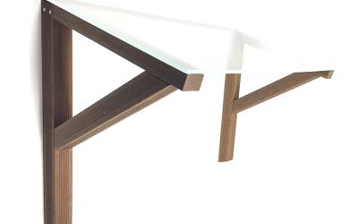 DIY door canopy