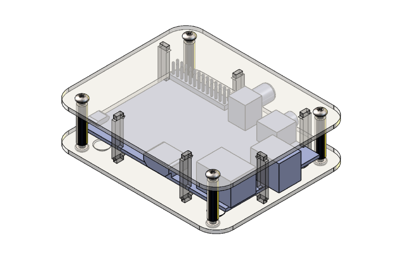 Make a Raspberry Pi case