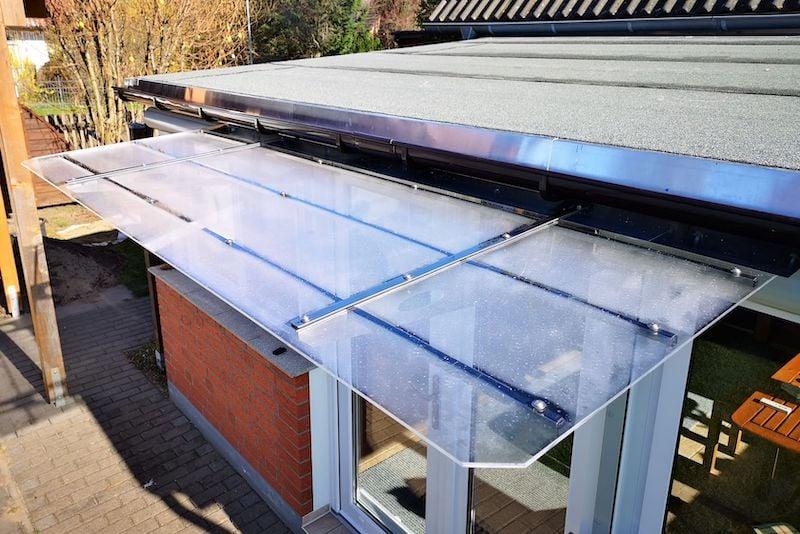 canopy make translucent plexiglass