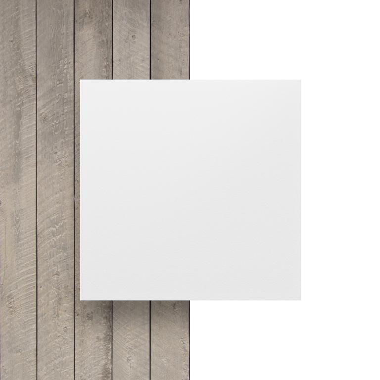 Front white HPL sheet