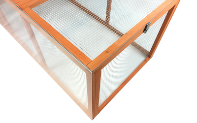 Create a windshield for your chicken coop