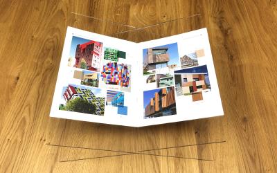 DIY: create a plexiglass book stand
