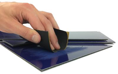 Dibond painting, coating or printing