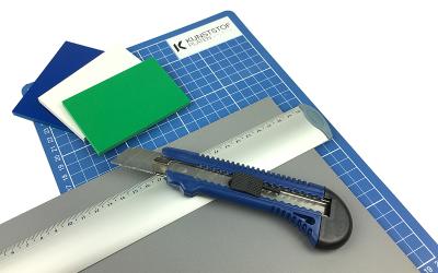 How to cut PVC