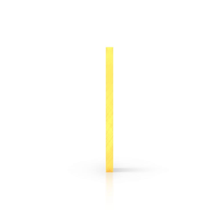 Side acrylic sheet fluorescent yellow