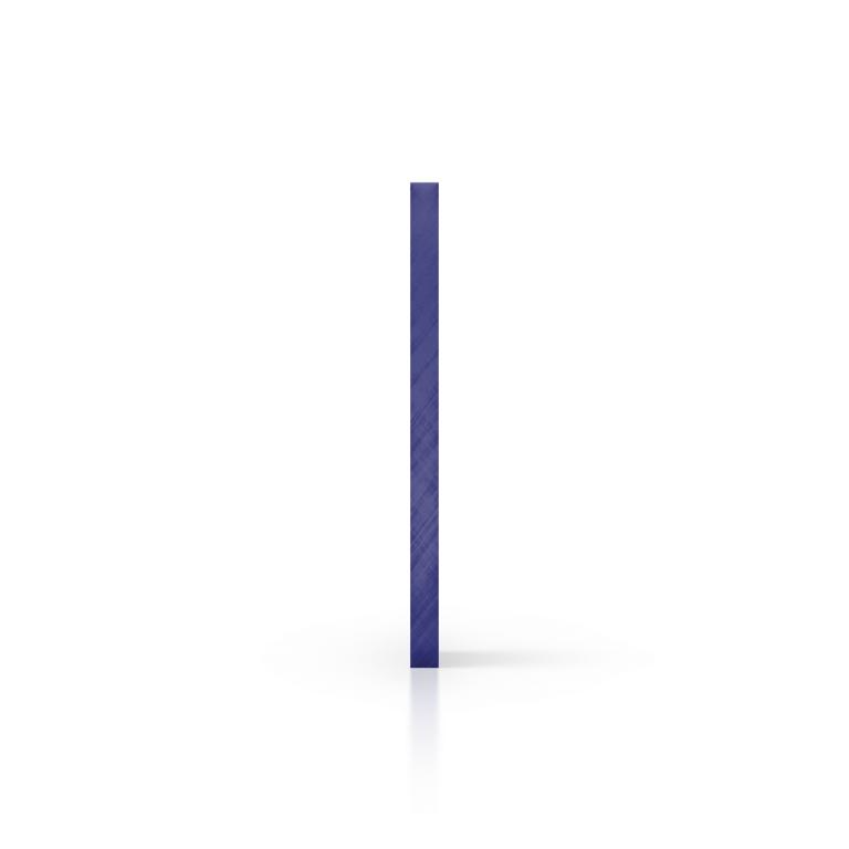 Side acrylic sheet tinted blue