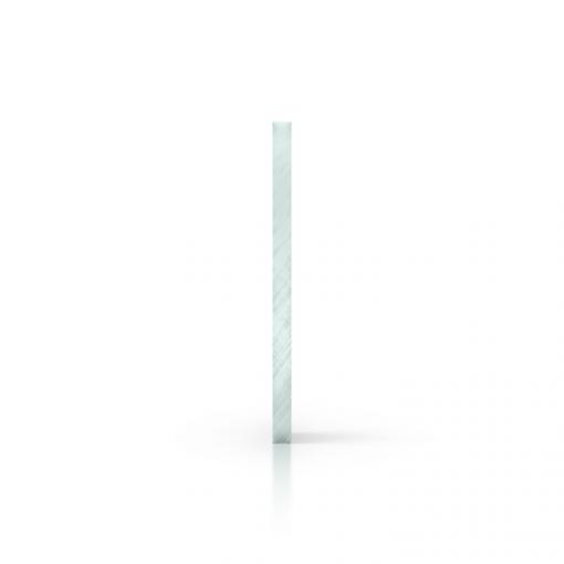 Side acrylic sheet tinted glasslook