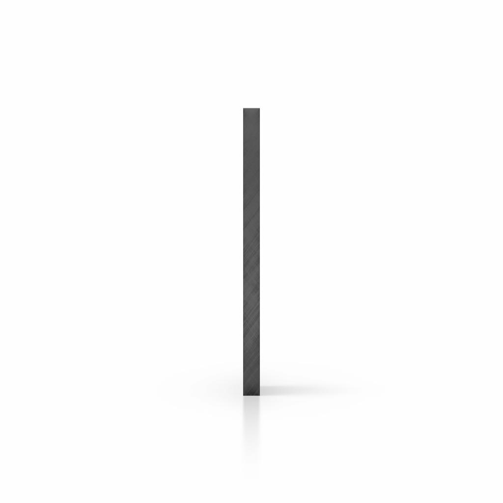 Side acrylic sheet tinted grey