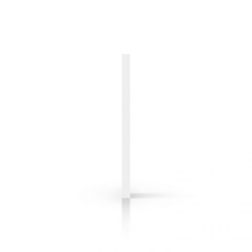 Side acrylic sheet white