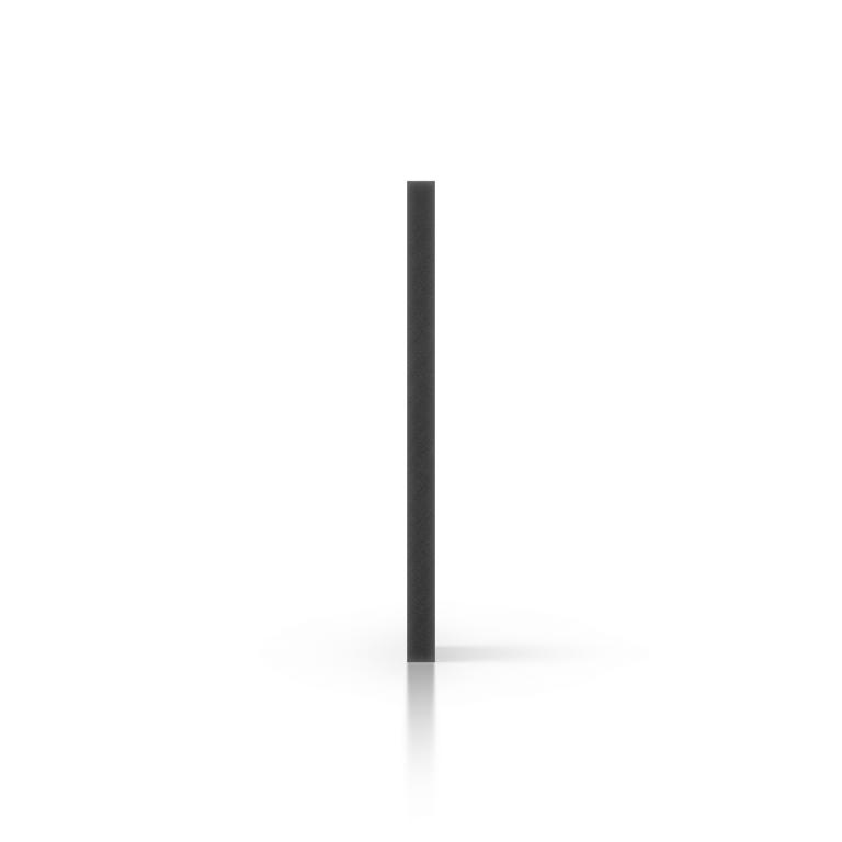 Side foamed PVC black