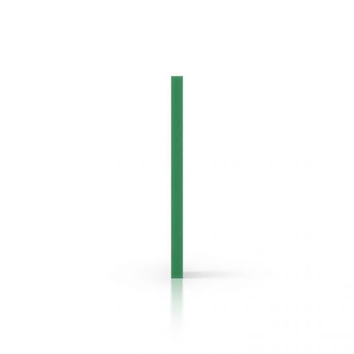 Side foamed PVC green