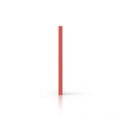 Side foamed PVC red