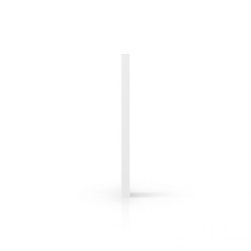 Side foamed PVC white