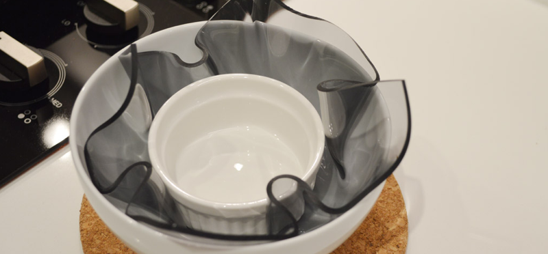 Acrylic bowl step 4