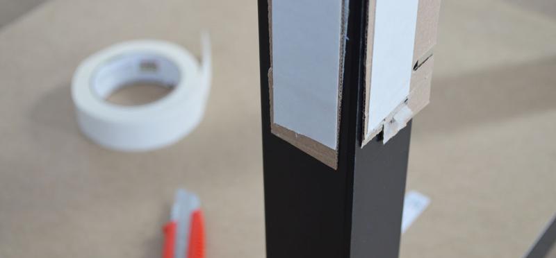 Acrylic table step 5